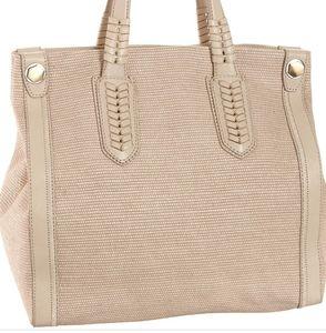 orYANY•Leather trimed•magnetic closure•pockets•EUC
